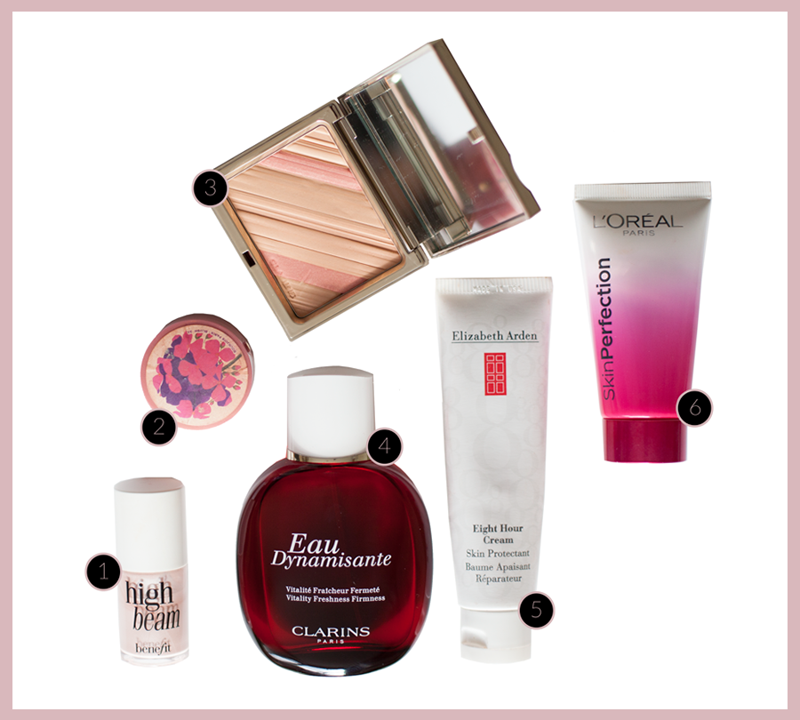 Some current beauty favourites….