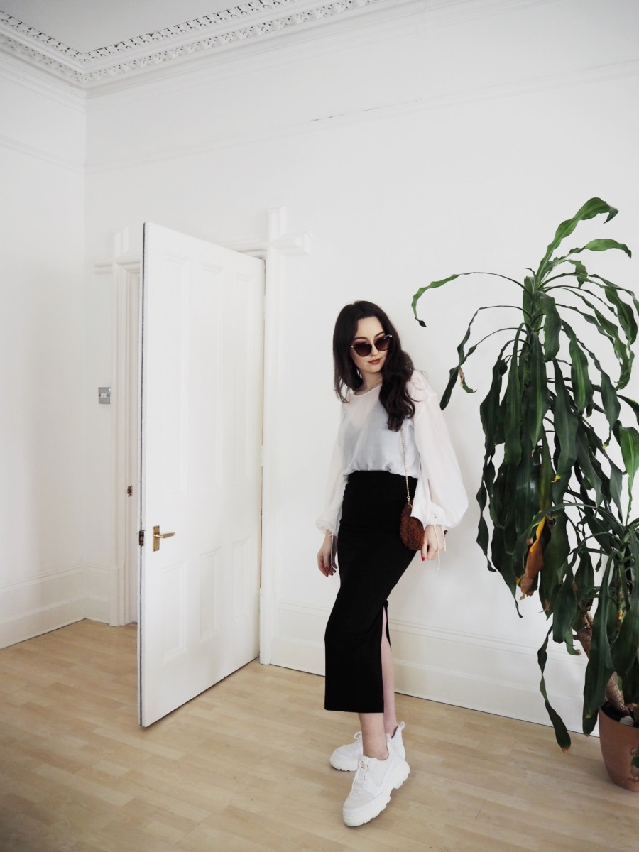 How To Style White Trainers