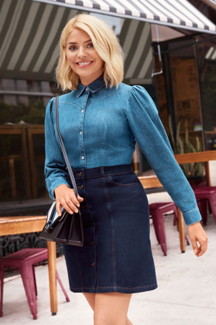 Holly Willoughby's Must Have Denim Edit Lands In Cardiff