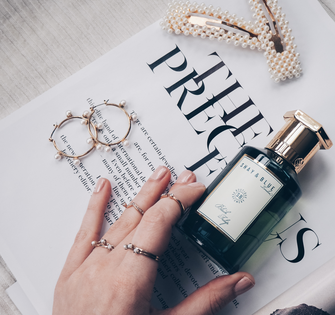 How To Apply Perfume with Shay & Blue
