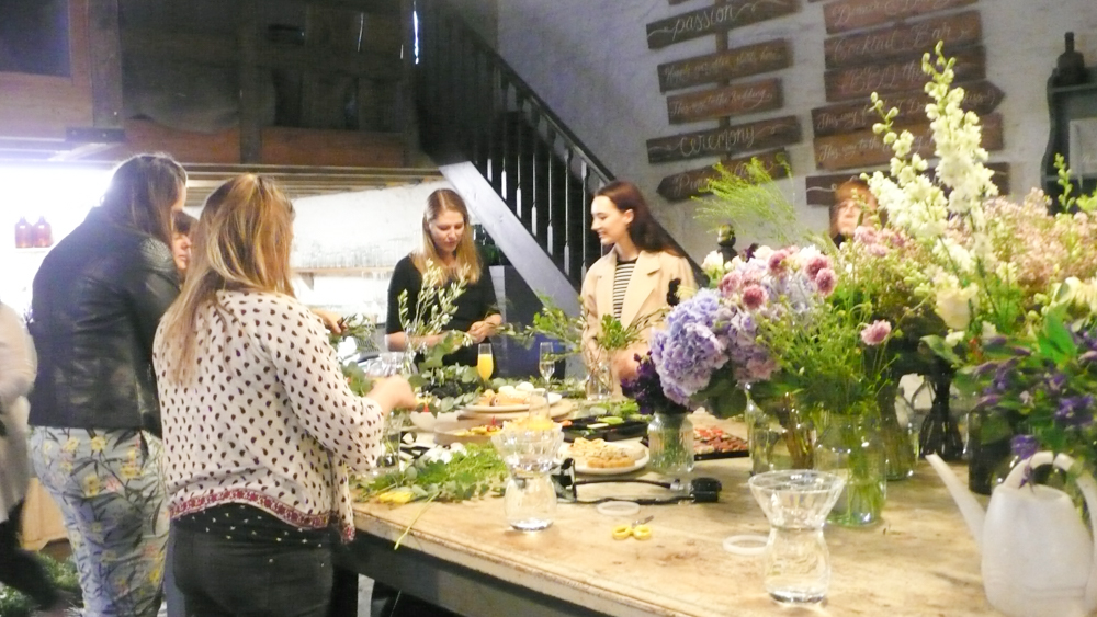Flower Arranging Class with Flowers by Passion – Tanya Burr's Wedding Florist