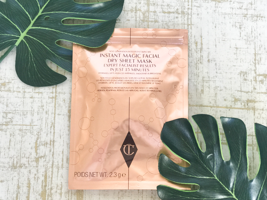 Charlotte Tilbury Instant Dry Magical Sheet Mask Review